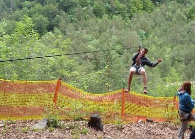 Adrenalinski park Čepa, 9. razred